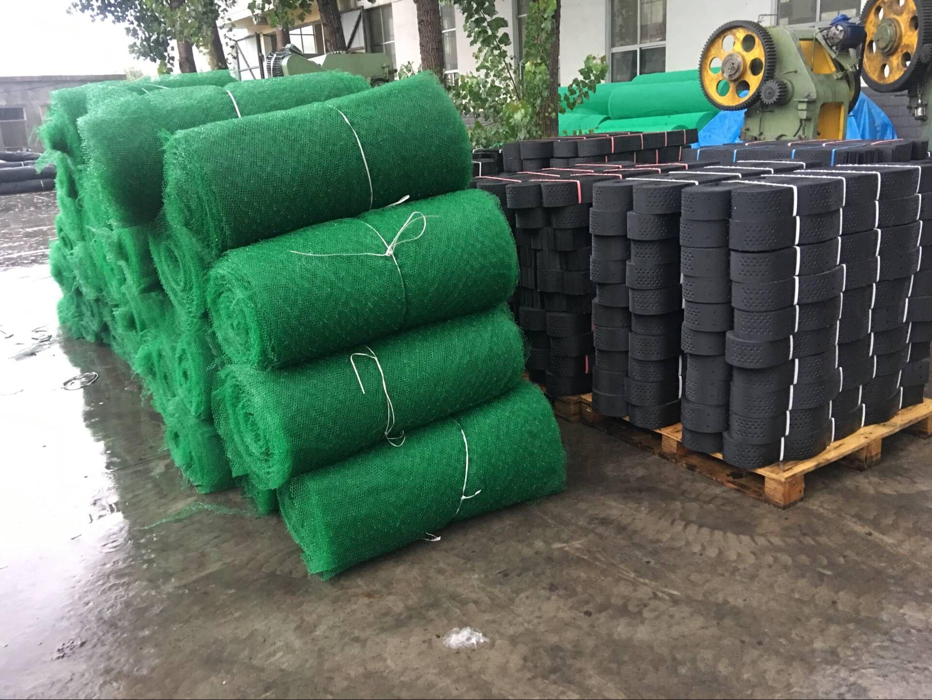 三维植被网的防护特色与搭接