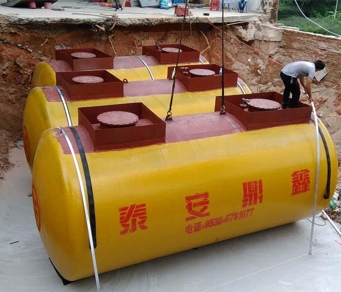 双层储油罐