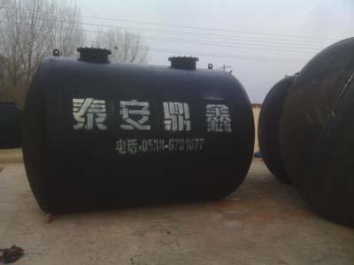 卧式埋地油罐