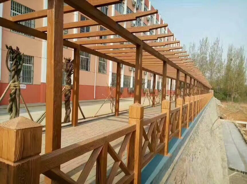 景区仿木栏杆