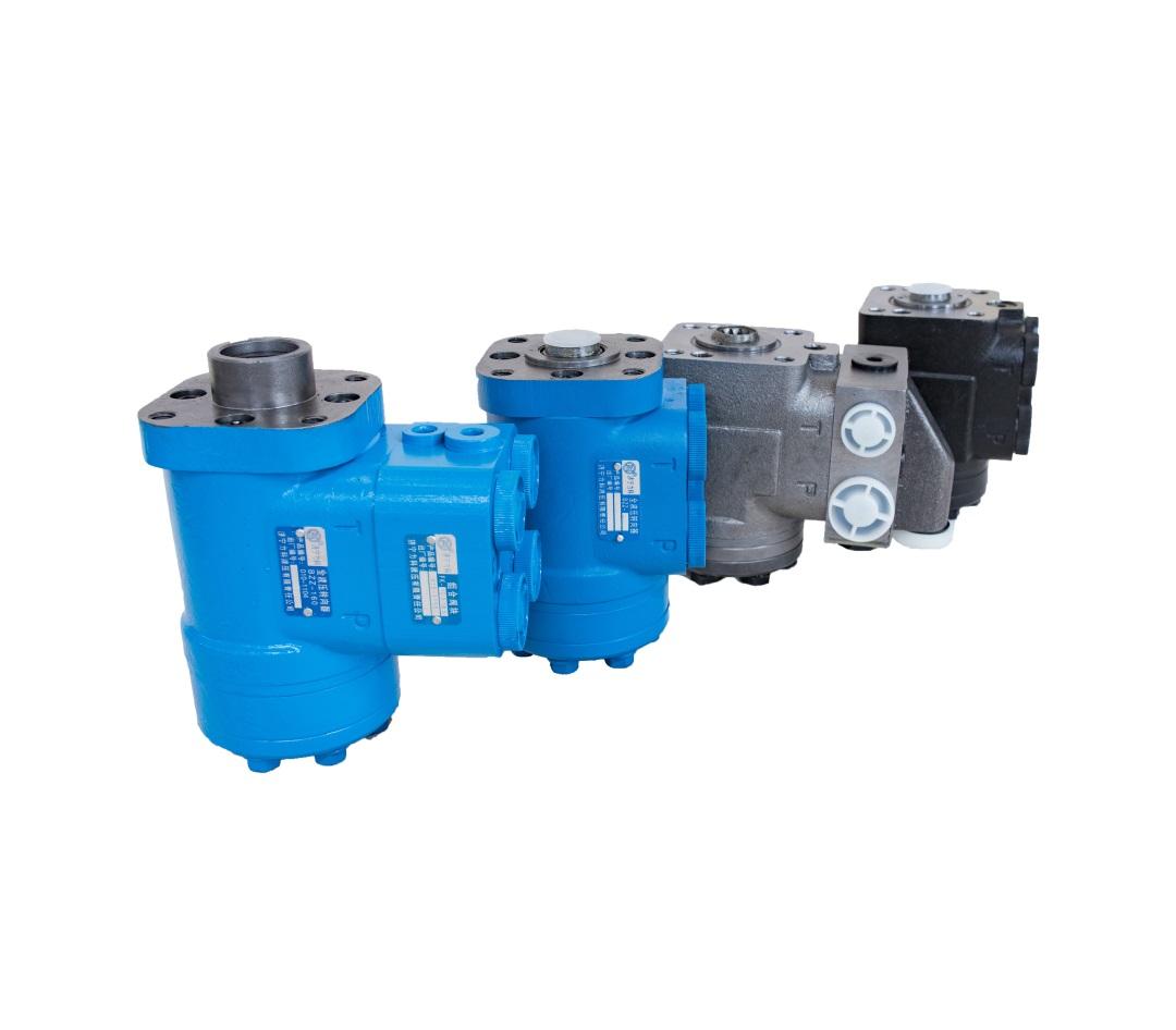 全液压转向器主要由什么构成