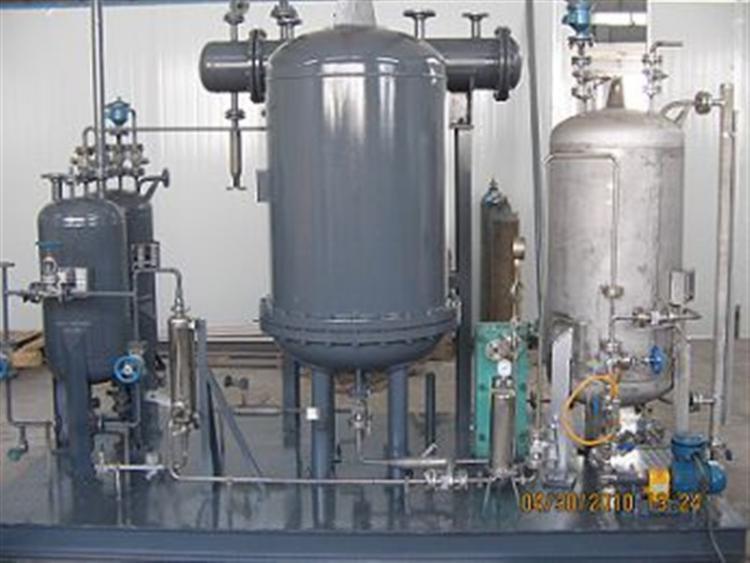 渗透汽化膜分离技术进行有效二次除杂处理