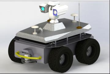 轮式机器人底盘