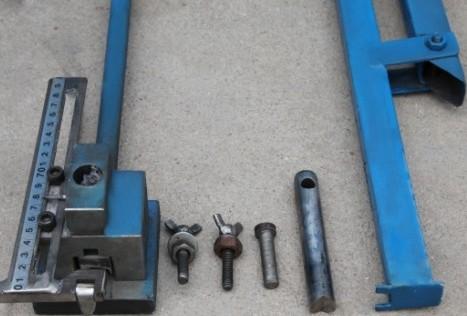 不锈钢管冲孔机