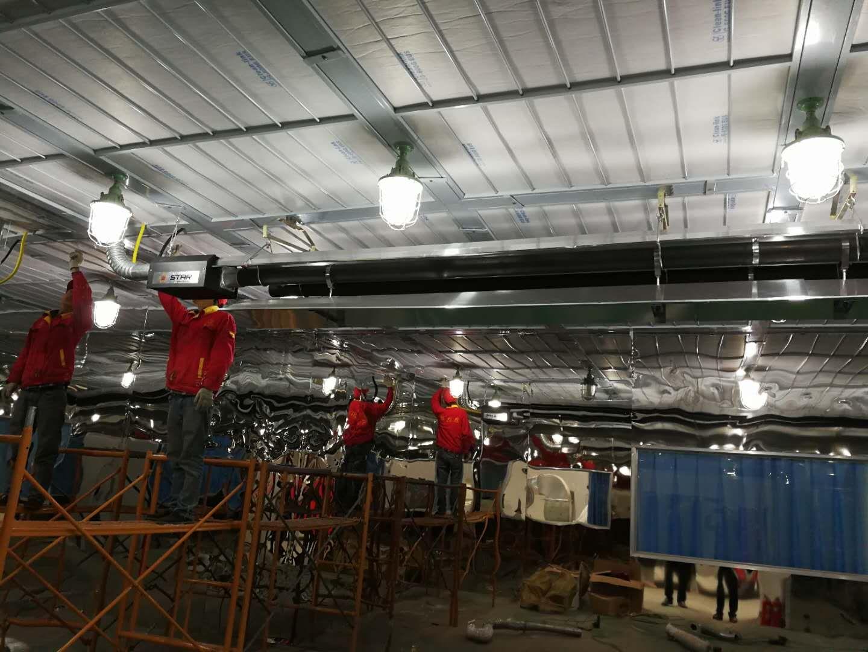 工业车间厂房采暖控制系统的应用