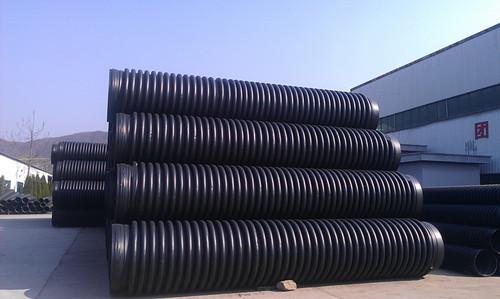 HDPE给水实壁管