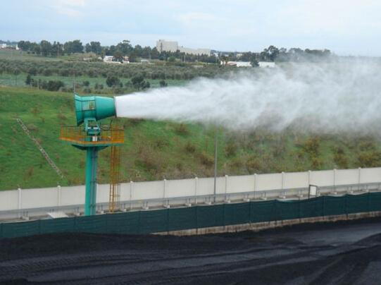 泰安石材厂干雾抑尘除尘设备