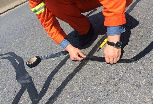 沥青路面贴缝带