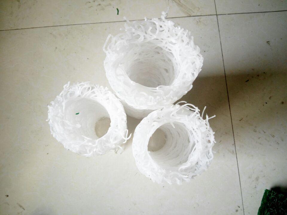 塑料盲沟管片材