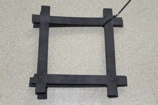 凸结点钢塑土工格栅厂