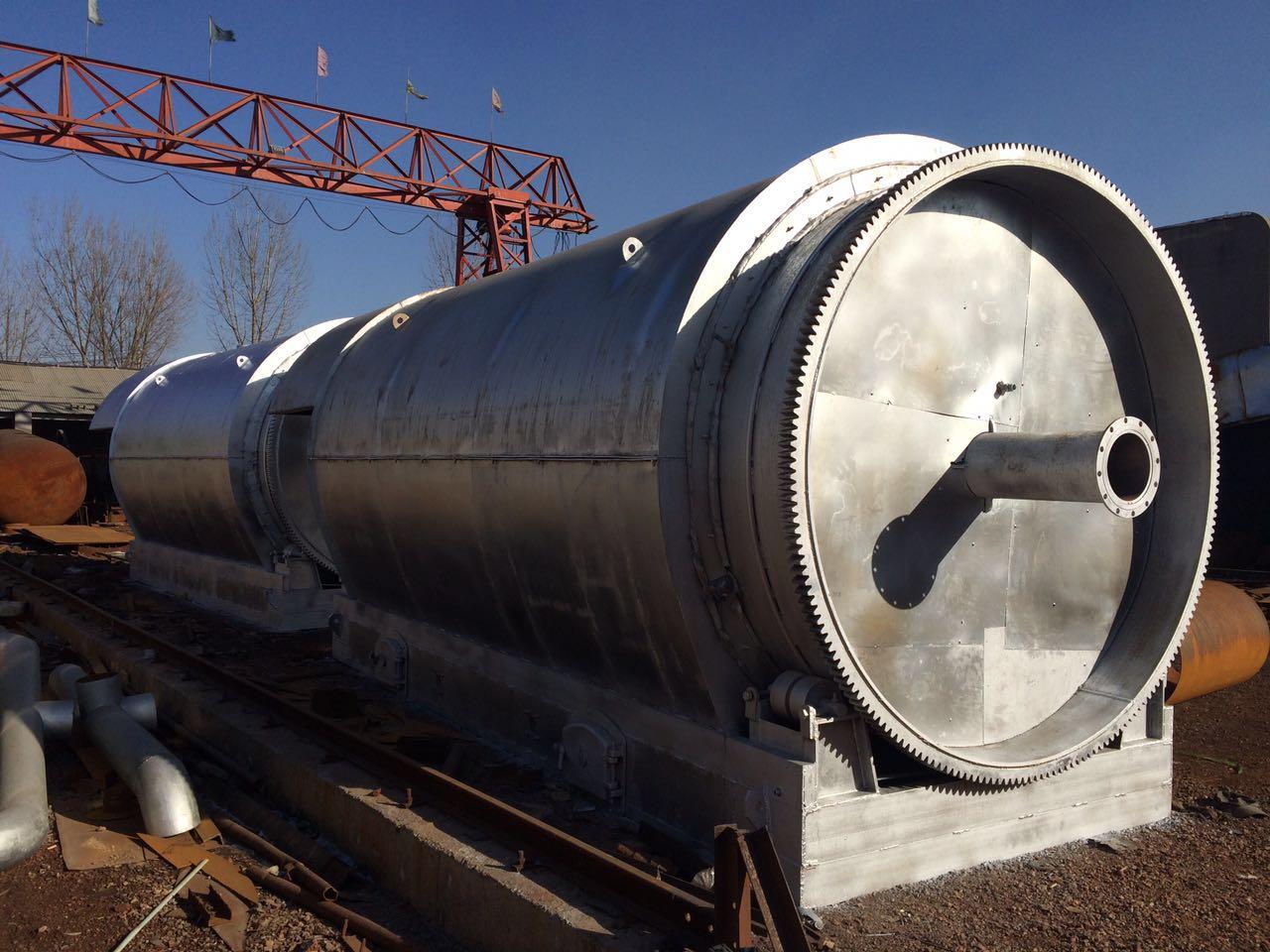 废油泥炼油设备